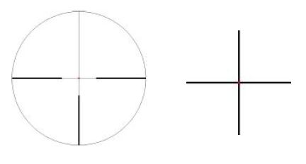 Zeiss Victory V8 reticle 60