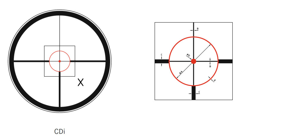 Leica Magnus CD i reticle