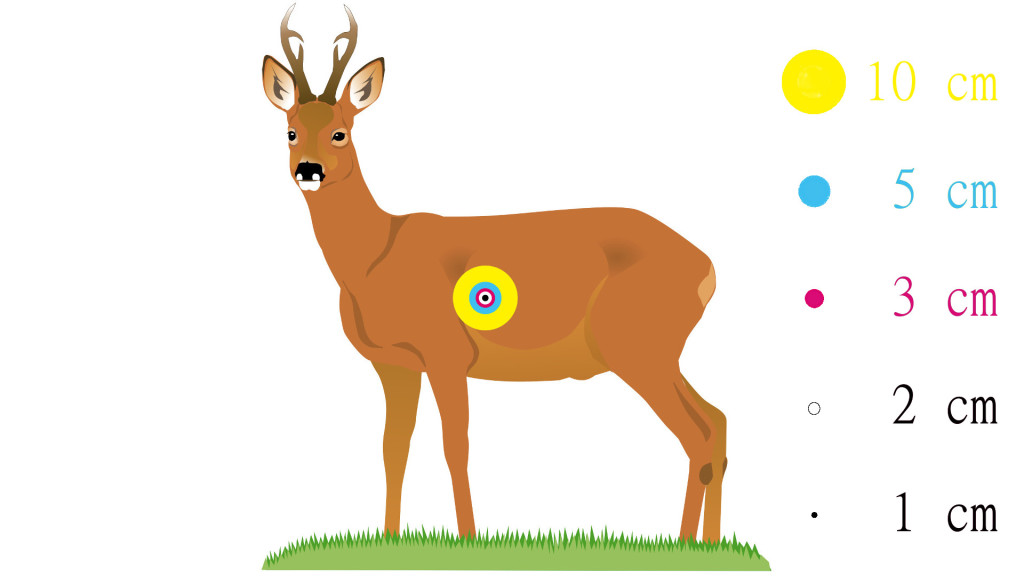 Optics Trade Deer Target