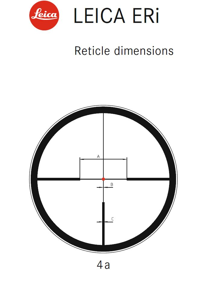 Leica ERi reticle 4A