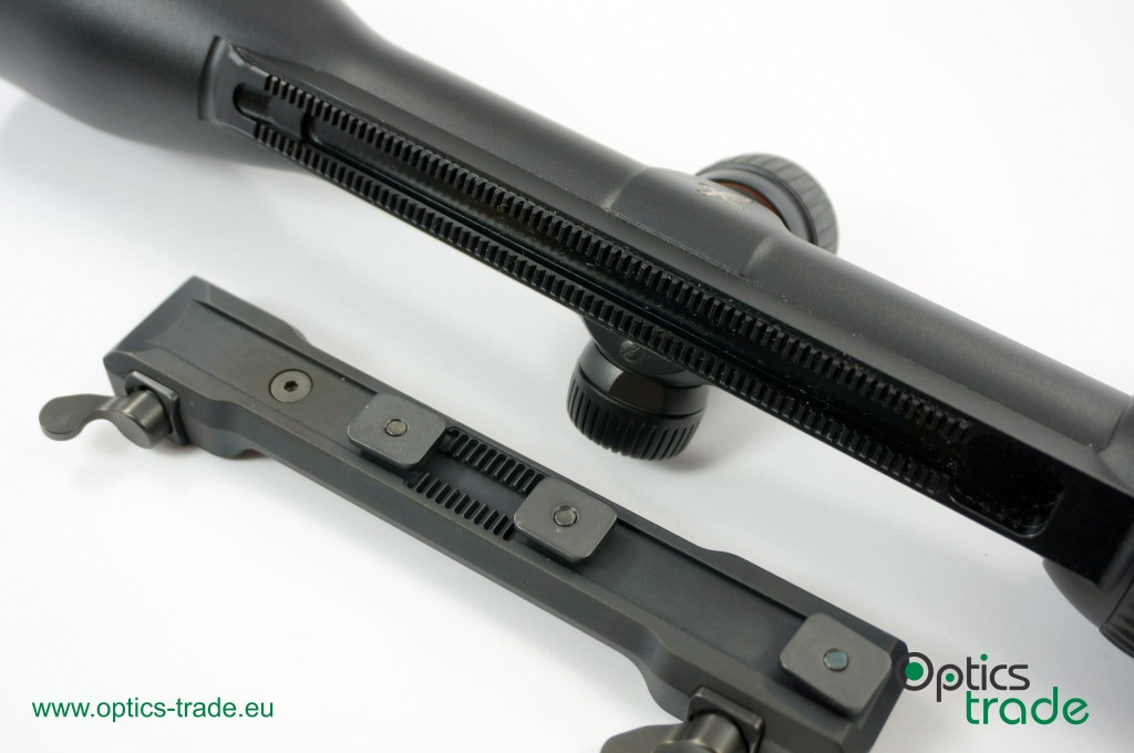 Swarovski SR rail and MAKuick mount