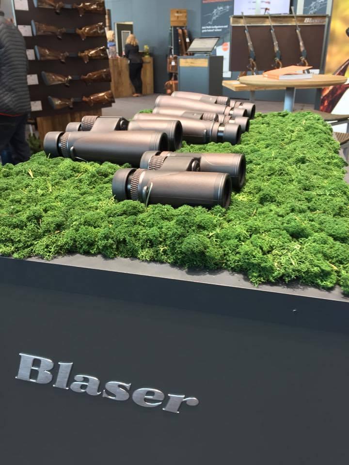 Blaser Primus Binoculars displayed at IWA 2017