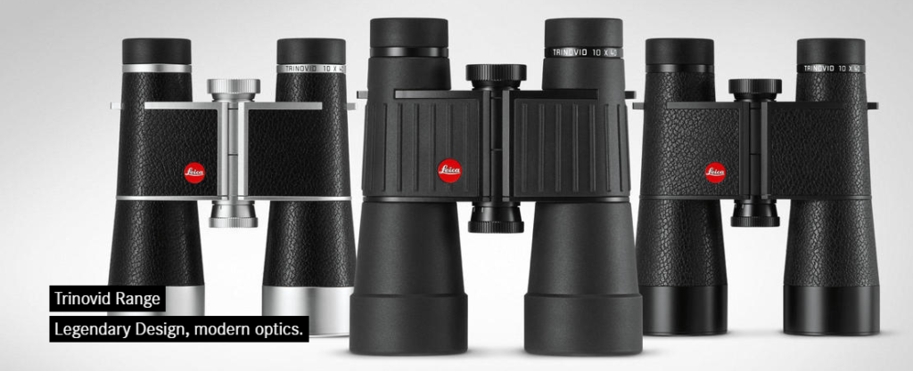 Leica's three new TRINOVID models